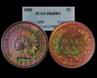 1905 Proof IHC
